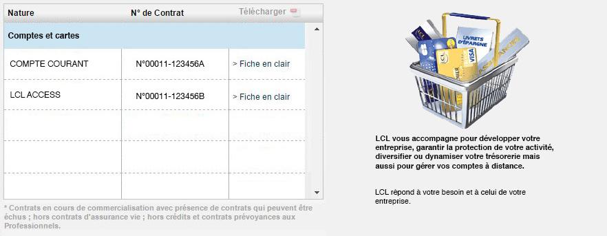 Lcl Le Credit Lyonnais Compte Courant